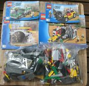 Lego City 4204 The Mine - Complete With Manual 748 Pieces