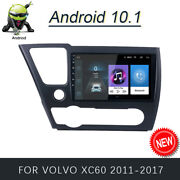 Car Gps Navi Radio Stereo Wifi Android 10.1 Dvd Player For Volvo Xc60 2011-2013