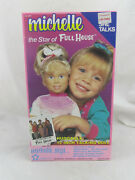 New - Vintage 1990 Michelle Full House 15 Talking Doll By Meritus Sealed Read