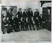 1966 Press Photo West Point Us Military Academy Appointees Honored - Ftx00465