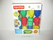 Vintage 2013 Fisher-price Snap Lock Beads Baby Toys Skills Building Vehicles New