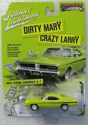 Johnny Lightning Dirty Mary Crazy Larry 1969 Dodge Charger R/t Vhtf