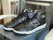 Rare New Balance Menand039s Vintage High Top Basketball Sneakers Bb480hd Size 10.5