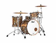 Pearl Masters Complete Cain And Abel Lacquer 22x16_12x8_16x16 Drums And Bags Dealer