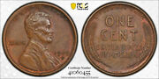 1909 S Vdb 1c Lincoln Wheat Cent Pcgs Ms 62 Bn Uncirculated Brown Key Date Ni...