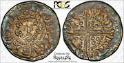 Great Britain 1247 King Henry Iii Of England. Silver Penny Top Pop Ngc Ms63