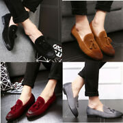 Leather Menand039s Shoes Peas Shoes Trend Lazy Leather Frosted Fashion Korean Casual