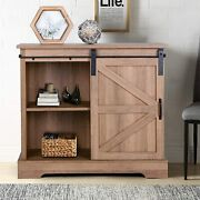 Storage Cabinet With Sliding Sideboards Cupboard Table For Dining Living Room