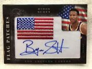 Ssp Finest Version Best Director National Flag Patch Direct Auto 2011 Panini