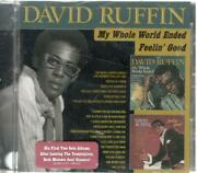 David Ruffin My Whole World Ended And Feelin' Good, Sealed Cd W / Cracked Case