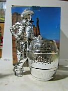 Jim Beam 2014 Iajbbsc Special Platinum Cowboy Convention Decanter 4 Of Only 6