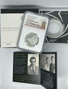 2020 007 James Bond Silver Coin Ngc Coin Gold Coin Used From Japan Rare Limited