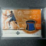Michael Jordan Ultimate Collection Basketball Card Wizards Nm-ex Jersey 78/100