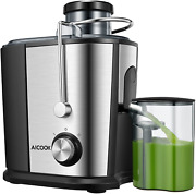 Electric Cold Press Juicer Machine Dual Speed Slow Fruit Juice Extractor Maker