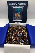 Liberty Wooden Jigsaw Puzzle Electric Fox 515 Pieces Phil Lewis Mint In Box