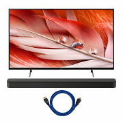 Sony Xr65x90j Bravia Xr 65 Inch 4k Hdr Led Smart Tv And Ht-s100f Bundle