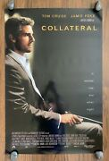 Michael Man's Collateral 2004 Double-sided One-sheet Tom Cruise And Jamie Foxx