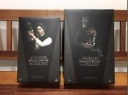 Sold Out Hot Toys Han Solo Chewbacca