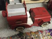 For Parts Tonka Jeep Fire Pumper No. 425 Vintage 1963-1965 Truck Toy