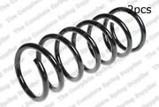 For Volvo S80 Rear Set Of 2 Coil Spring Exc. Leveling Control Lesjofors 4295853