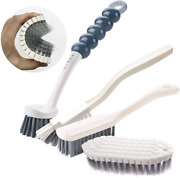 Cleaning Brush Kitchen Set Brushes Dish Pack Bottle Scrub Includes Grips Deep