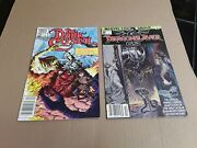2 First Issue Comic Books. Dragonslayer 1981. The Dark Crystal 1983.
