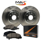 2003 2004 Chevy Tracker Oe Replacement Rotors W/ceramic Pads F
