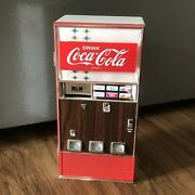 Vintage Coca-cola Diecast Toy Vending Machine Battery-operated 1996 Cc 22457