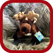 Nwt▪️webkinz Reindeer Hm137▪️new Sealed Tag Plastic Covering Not Opened▪️2007