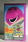 Barney's Read With Me Dance With Me Screener Vhs- Rare - Never Seen On Tv 2003
