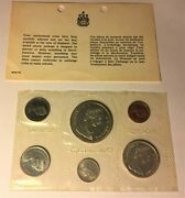 1965 Canada 6 Coin Uncirculated Canadian Mint Set