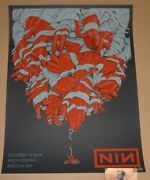 Nine Inch Nails Dave Kloc Boston Poster Print Signed Numbered Art Ap 2018