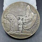 Iceland Medal 1000 Years Althing Silver 10 Kronur 1930 Ch Bu Unc 3s A Party
