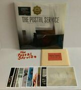 Sealed The Postal Service Give Up Color Vinyl Loser 10th Anniversary 3lp Inserts