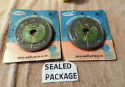 Vintage 2 Lot Costal Grinding Wheel 5 X 1/2 X 1/2 Aluminum Oxide Made In Usa