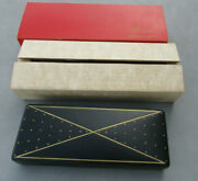 New Vintage Black Shields Fifth Avenue Gifts For Men Jewelry Box