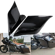 Motorcycle Abs Stretched Extended Saddlebag Side Cover For Harley Touring Flhtc