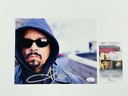 Ice-t Signed 8x10 Photo Body Count Gangster Rap Hip Hop Pioneer Jsa Coa 🔥wow