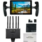 Smallhd 702 Touch 7 On-camera Monitor With Bolt 4k Receiver Gold Mount