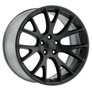 20 F.r.70 Hellcat Style Wheels For Jeep Grand Cherokee Srt8 Staggered Size Rims