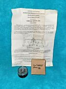Us Military Magnetic Mc-1 Pilot Survival Vest Compass Nos In Box Dated 1982