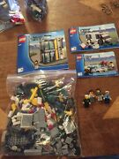 Lego- City- Police- Bank And Money Transfer- 3661- 100 Complete- No Box