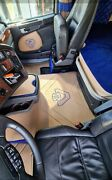Scania Smooth Eco Leather Floor Mats .scania R S G New Gen Next Gen .new