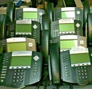 Lot Of 8 Polycom Soundpoint Ip650 Sip Business Phones Warranty