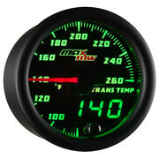 52mm Maxtow Transmission Temperature Gauge W Green Led Dual Readouts And Sensor