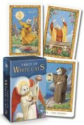 Tarot Of The White Cats Mini Deck Pocket Sized Edition Set Cat Cards Miniature