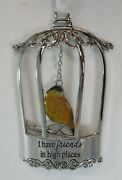 Qqx I Have Friends In High Places Bird Blessing Ornament Ganz