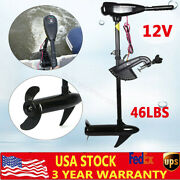 Electric Outboard Trolling Motor 46lbs Fishing Boat Engine Propeller 1900r/m 12v