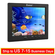 8 Ips Lcd Camera Video Monitor Hdmi Vga Bnc With Speaker For Dvr Fpv Vcd Cctv