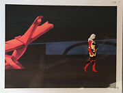1981 Heavy Metal Movie Original Production Cel With Matching Drawing Taarna